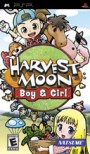 Harvest Moon: Boy & Girl Boxart