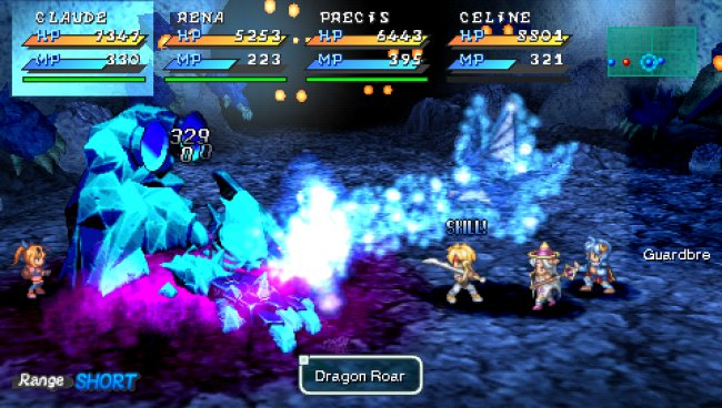 STAR OCEAN: Second Evolution PSP screenshots