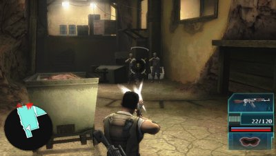 Syphon Filter&trade;: Logan&rsquo;s Shadow PSP screenshots