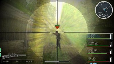 SOCOM: Tactical Strike PSP screenshots