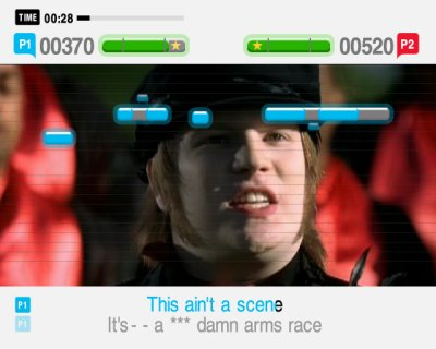 SingStar Amped PS2 screenshots