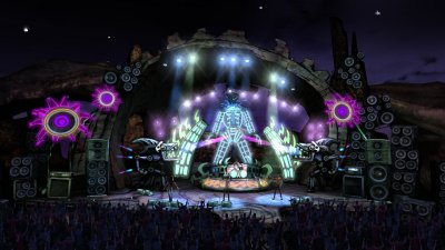 Guitar Hero III: Legends of Rock PS2 screenshots