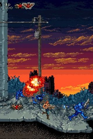 Contra 4 Nintendo DS screenshots