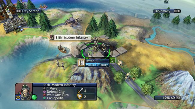 Sid Meier's Civilization Revolution PlayStation 3 screenshots