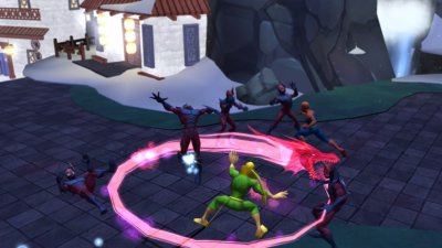 Spider-man: Friend or Foe PS2 screenshots