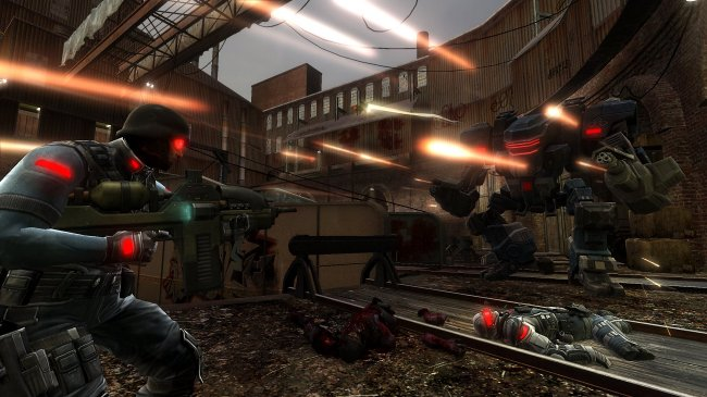 F.E.A.R. 2: Project Origin Xbox 360 screenshots