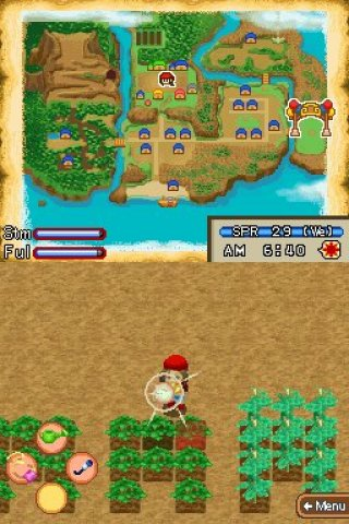 Harvest Moon: Island of Happiness Nintendo DS screenshots
