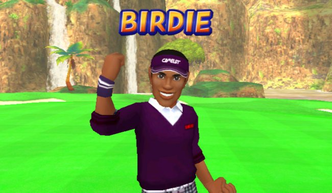 We Love Golf Wii screenshots