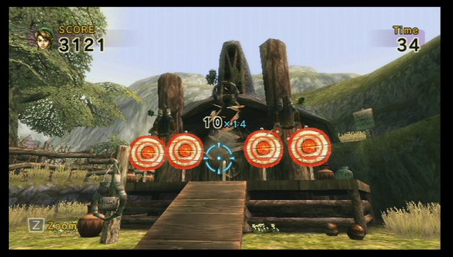 Link's Crossbow Training Wii screenshots