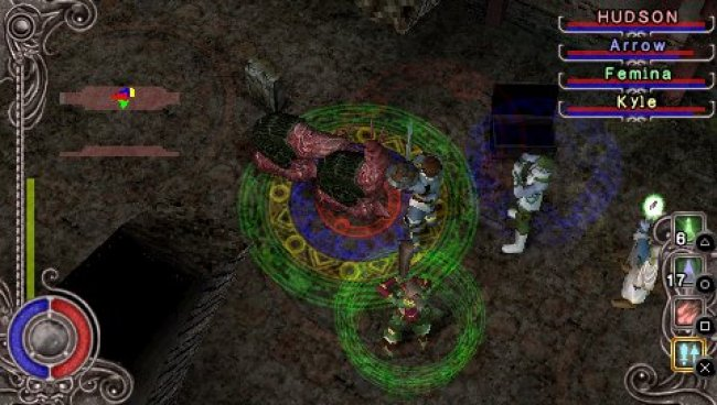 Dungeon Explorer Warriors of Ancient Arts PSP screenshots