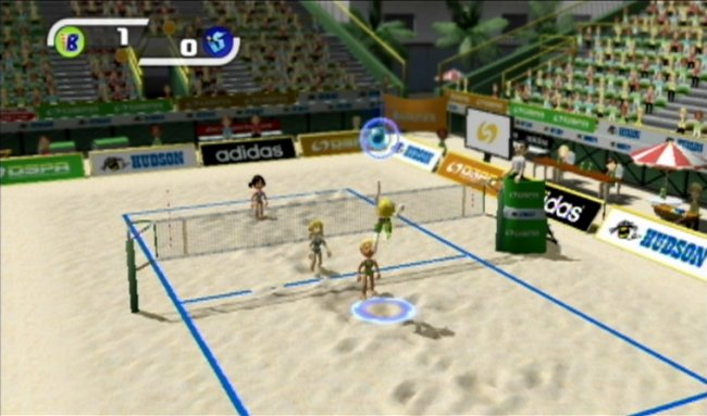 Deca Sports Wii screenshots
