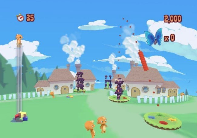 Roogoo Twisted Towers! Wii screenshots