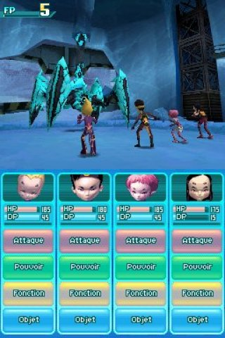 Code Lyoko: Fall of X.A.N.A Nintendo DS screenshots