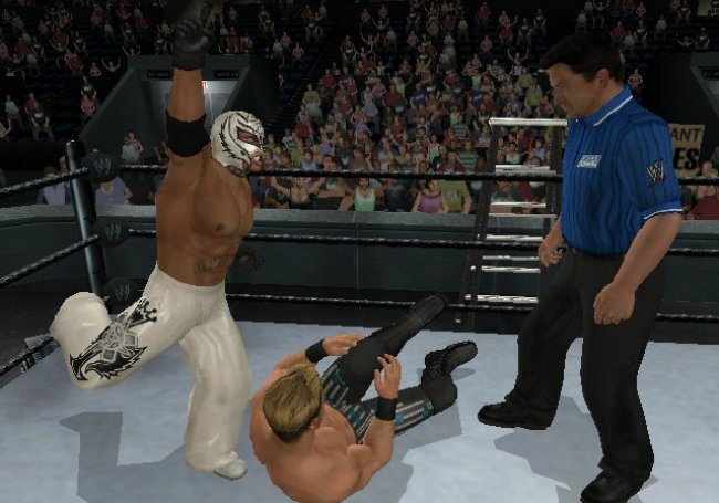 WWE SmackDown vs. Raw 2009 Wii screenshots