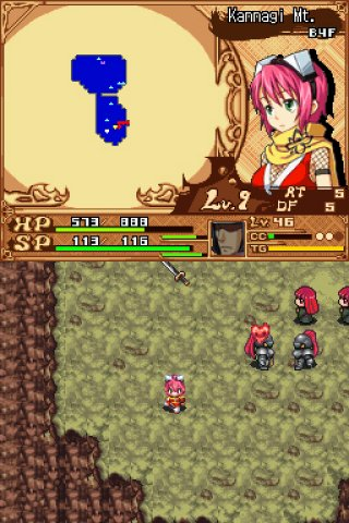 Izuna 2: The Unemployed Ninja Returns Nintendo DS screenshots