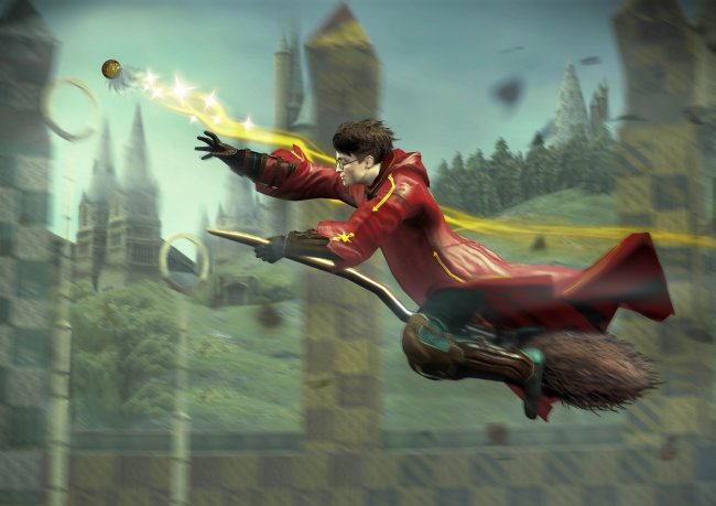 Harry Potter and the Half-Blood Prince Wii screenshots