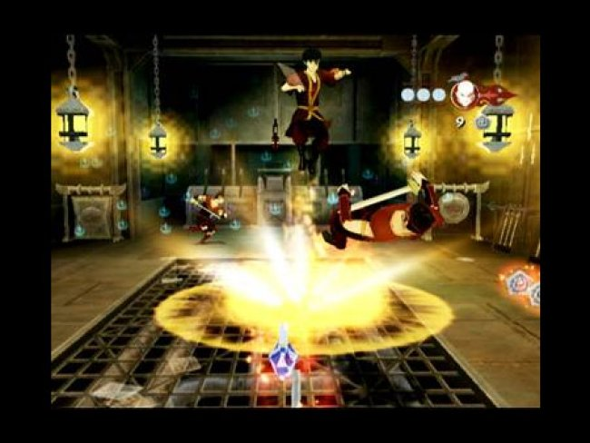 Avatar - The Last Airbender: Into the Inferno PS2 screenshots