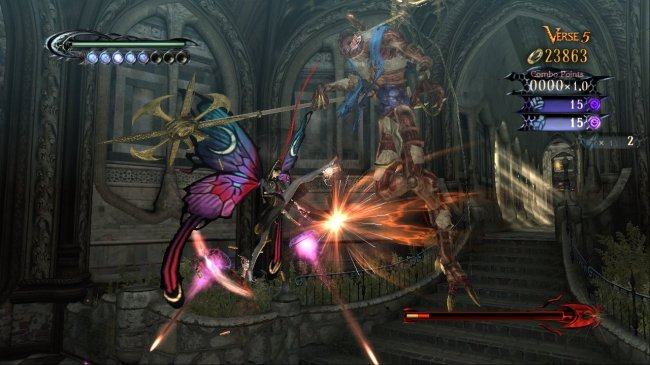 Bayonetta Xbox 360 screenshots