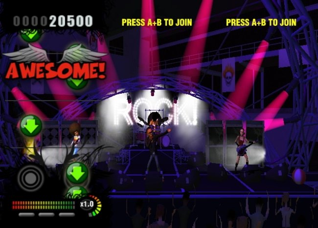 Rock Revolution Wii screenshots