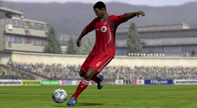 FIFA Soccer 09 PlayStation 3 screenshots