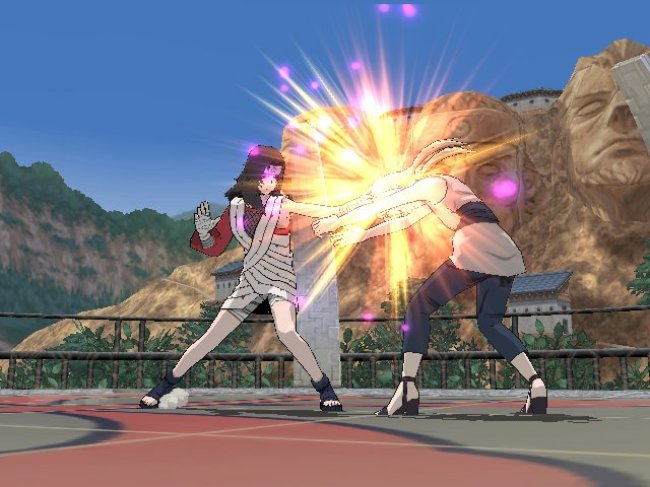 NARUTO: Clash of Ninja Revolution 2 Wii screenshots