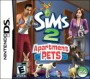 The Sims 2 Apartment Pets - NDS Boxart