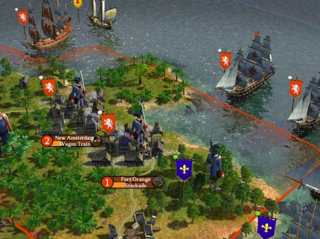 Sid Meier's Civilization IV: Colonization PC screenshots
