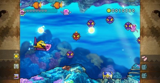 Wario Land: Shake It! Wii screenshots