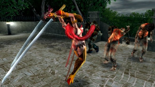 Onechanbara: Bikini Zombie Slayers Wii screenshots