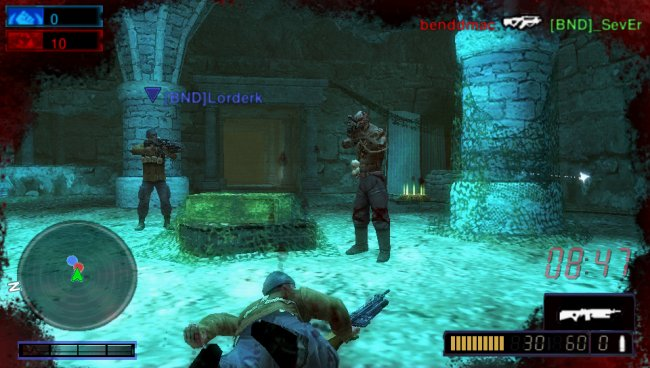 Resistance: Retribution PSP screenshots