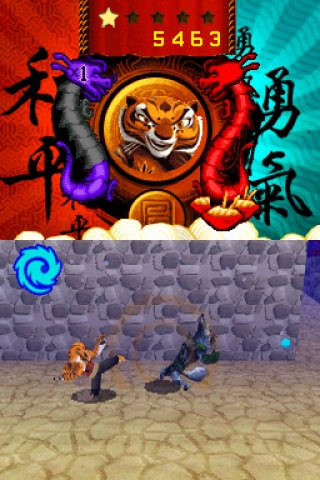 kung fu panda legendary warriors nds review gamezone