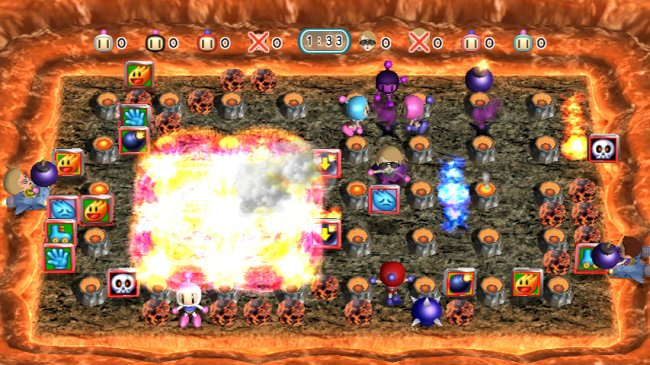Bomberman Blast Wii screenshots