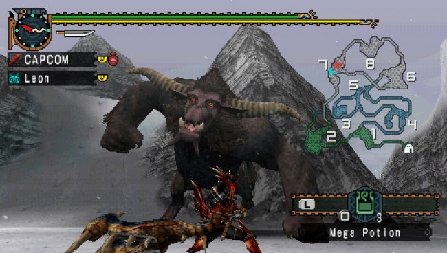 Monster Hunter Freedom Unite screenshots