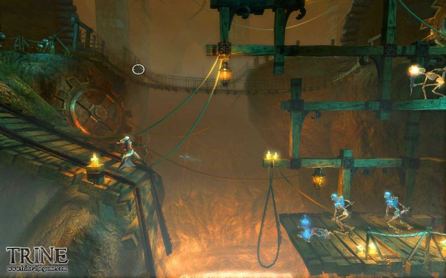 Trine PlayStation 3 screenshots