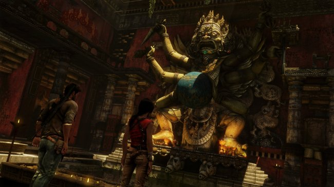 Uncharted 2: Among Thieves PlayStation 3 screenshots