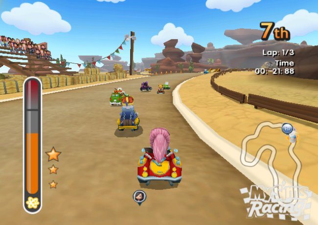 MySims Racing Wii screenshots