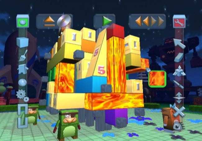 Boom Blox Bash Party Wii screenshots