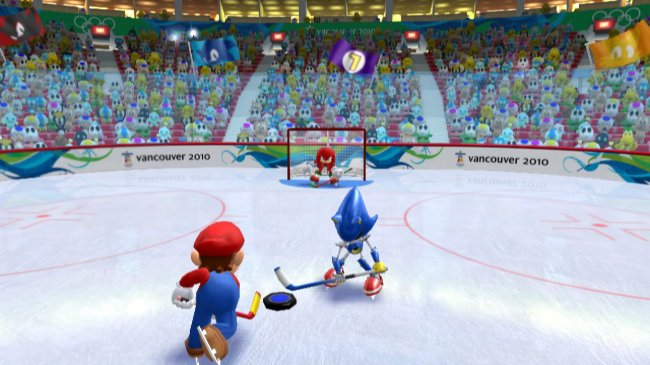 Mario &amp; Sonic at the Olympic Winter Games screenshots