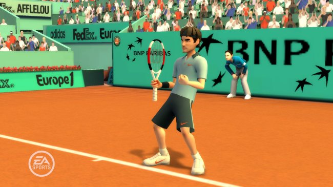 EA SPORTS Grand Slam Tennis Wii screenshots