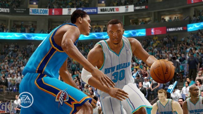 NBA Live 10 PlayStation 3 screenshots