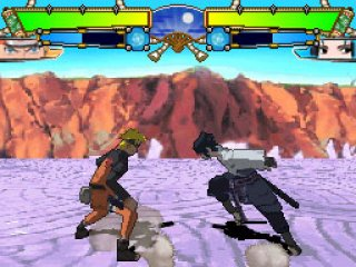 Naruto Shippuden Ninja Destiny 2 Nintendo DS screenshots