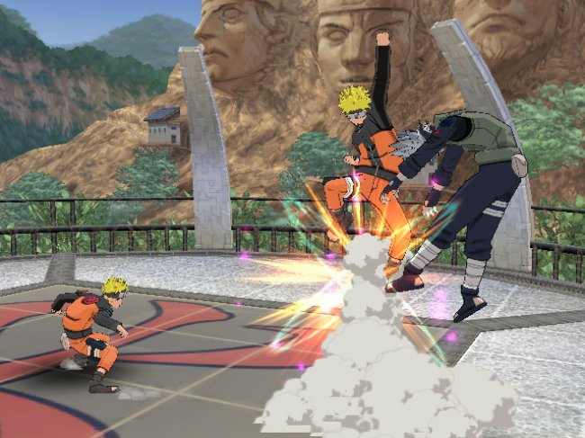 Naruto Shippuden Clash of Ninja Revolution 3 Wii screenshots