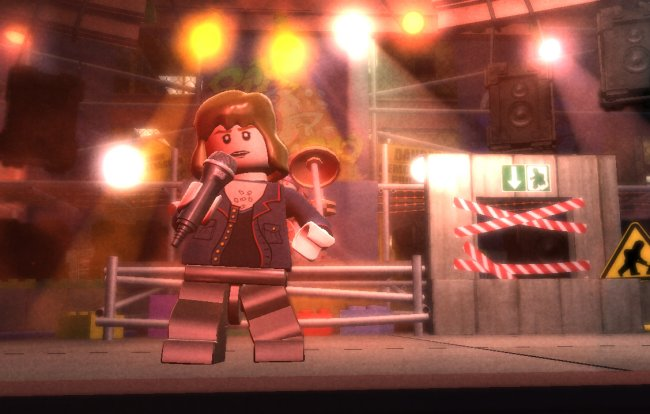 LEGO Rock Band Wii screenshots