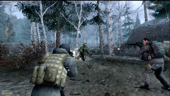 SOCOM: U.S. Navy SEALs Fireteam Bravo 3 PSP screenshots