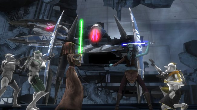 Star Wars: Clone Wars Republic Heroes Xbox 360 screenshots