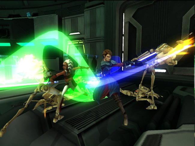 Star Wars:Clone Wars Republic Heroes Wii screenshots