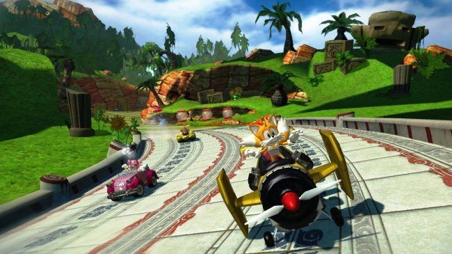 Sonic & SEGA All-Stars Racing Xbox 360 screenshots