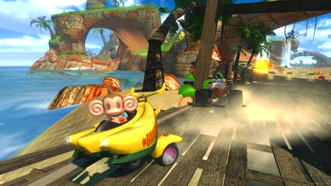 Sonic & SEGA All-Stars Racing PlayStation 3 screenshots