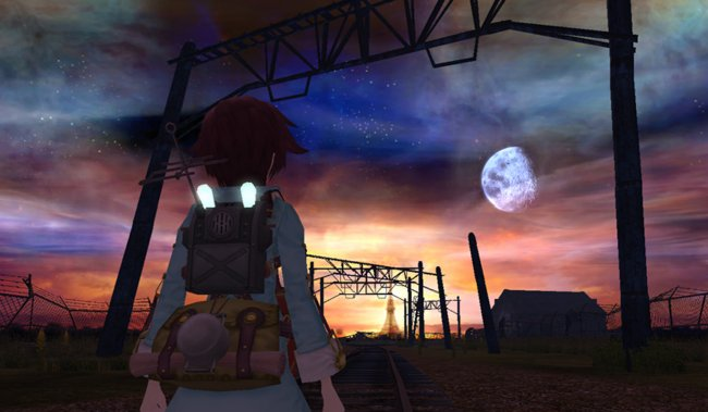 FRAGILE: Farewell Ruins of the Moon Wii screenshots