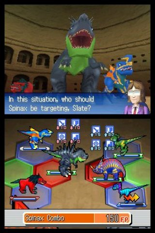 Fossil Fighters Nintendo DS screenshots